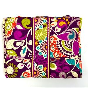 Vera Bradley Changing Pad Clutch Plum Crazy